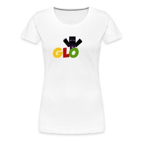 Minecraft - Glow - Frauen Premium T-Shirt