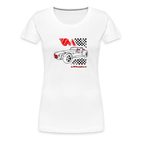 77 vm schwarz - Frauen Premium T-Shirt