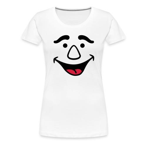 Laughing Face - Women's Premium T-Shirt