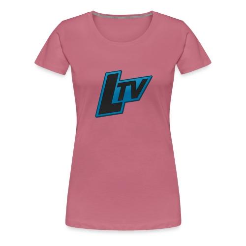 Lundorff_tv - Dame premium T-shirt