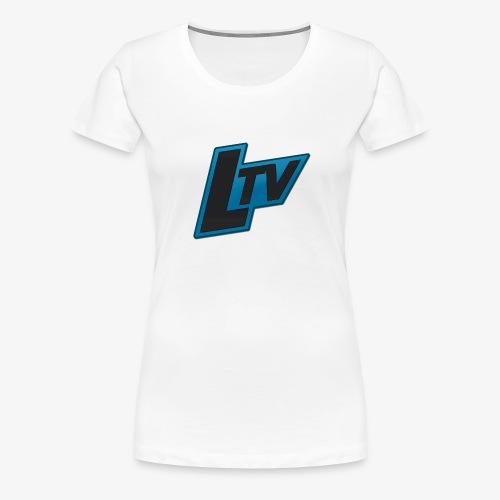Lundorff TV - Dame premium T-shirt