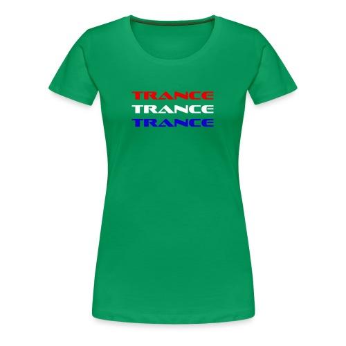 Trance Holland - Premium-T-shirt dam