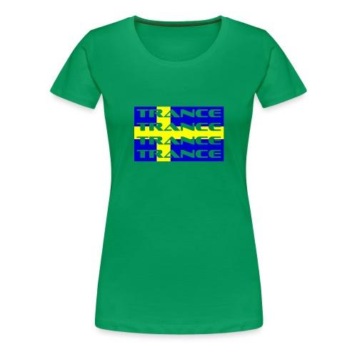 sverige_trance - Premium-T-shirt dam