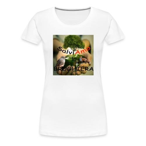 t-shirt SalviAmo (logo non originale) - Maglietta Premium da donna