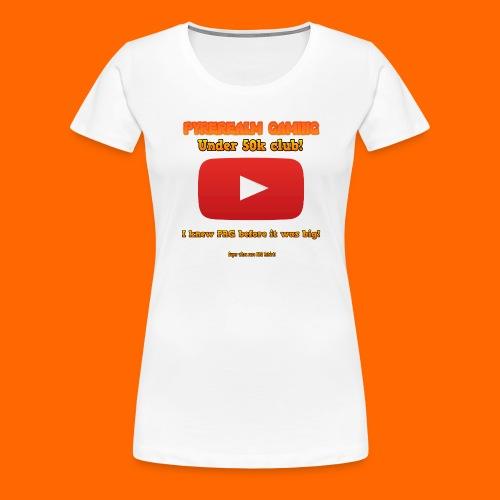 PRG 50k Tshirt - Women's Premium T-Shirt
