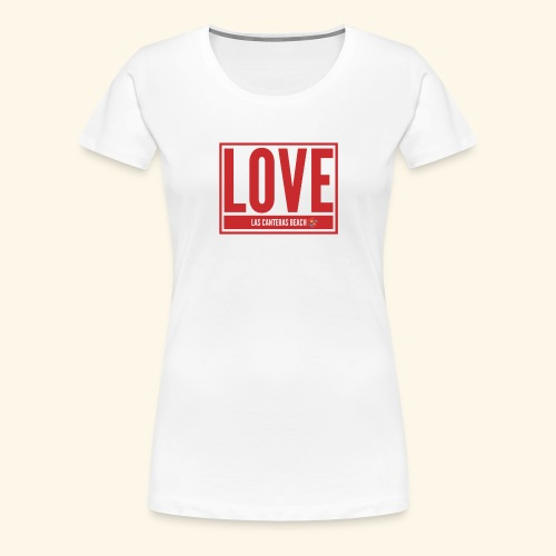Love Las Canteras - Camiseta premium mujer