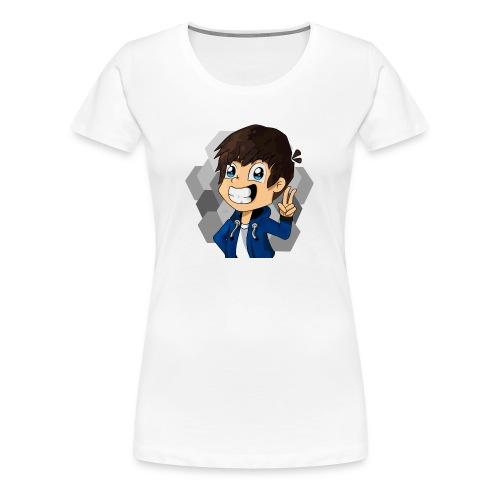 TheZame Minecraft Skin Handgezeichnet - Frauen Premium T-Shirt