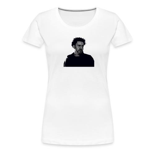 J-Cole illustration - Frauen Premium T-Shirt