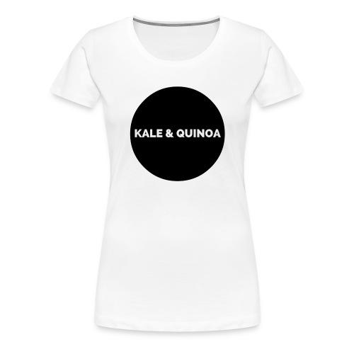 KALE & QUINOA - Koszulka damska Premium