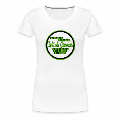 hashtags place2be - Frauen Premium T-Shirt