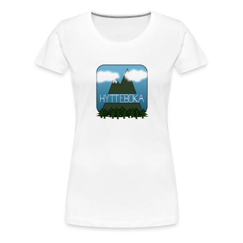 Hytteboka - Premium T-skjorte for kvinner
