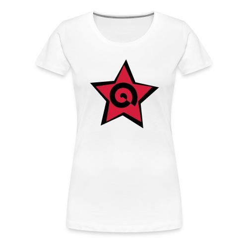 stella con spirale - Maglietta Premium da donna