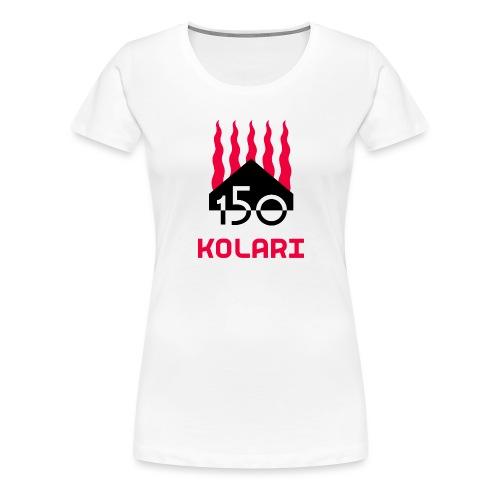 Kolari 150 - Naisten premium t-paita