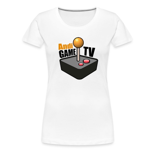 Andi GAME TV (Black) - Frauen Premium T-Shirt