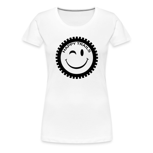 2016_HappyTrails_BW_new2 - Frauen Premium T-Shirt
