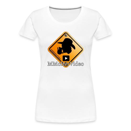Logo MMolterVideo - Frauen Premium T-Shirt