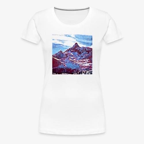 Red Mountain - Maglietta Premium da donna