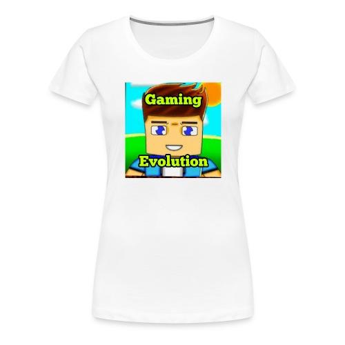 me while gaming - Women's Premium T-Shirt