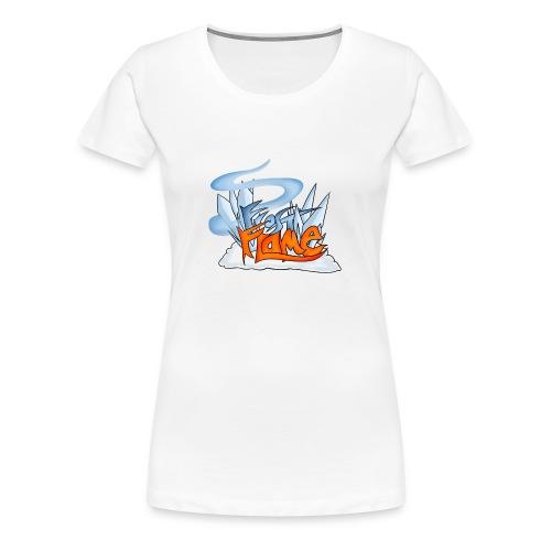 FrostFlame Logo - Premium T-skjorte for kvinner
