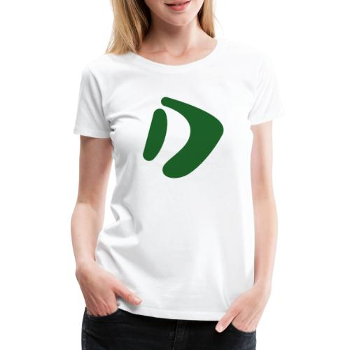 Logo D Green DomesSport - Frauen Premium T-Shirt
