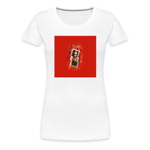 Blurry NES - Women's Premium T-Shirt