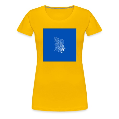 Windy Wings Blue - Women's Premium T-Shirt