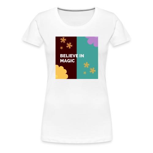 41b9bd15 believe in magic xx - Women's Premium T-Shirt