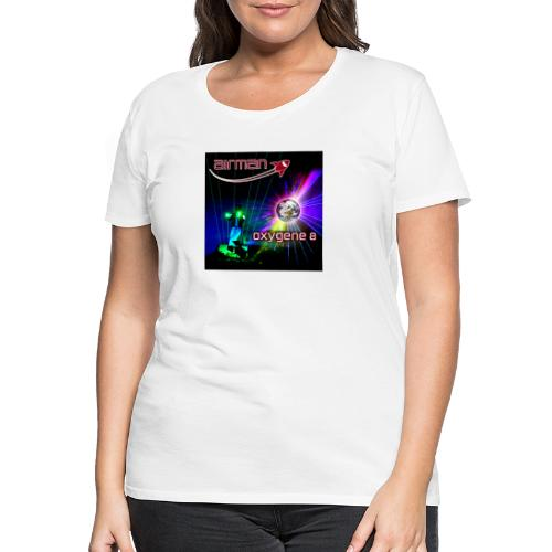 airman oxygene 8 - Albumcover - Frauen Premium T-Shirt