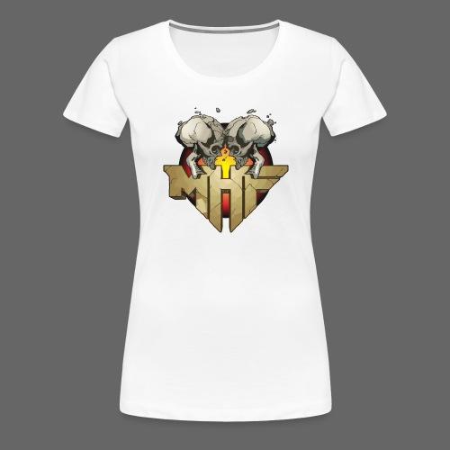 new mhf logo - Women's Premium T-Shirt
