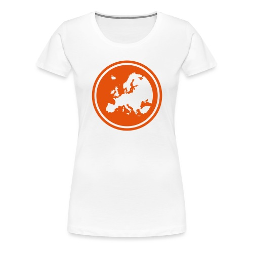 EGEA logo circle - Women's Premium T-Shirt