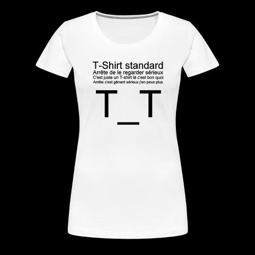 T-shirt dépressif - T-shirt Premium Femme
