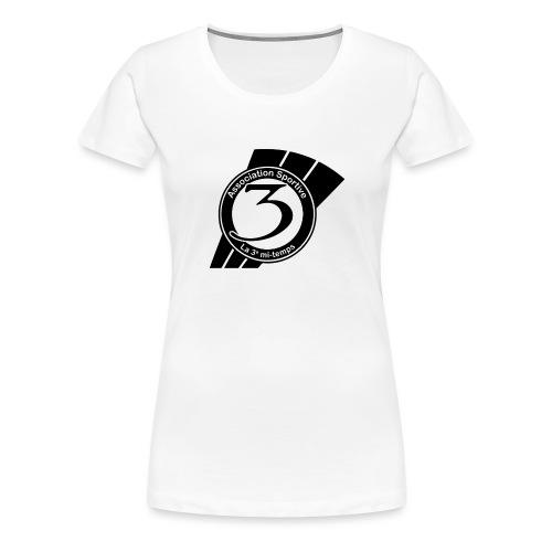 Logo-as3mt-noir - T-shirt Premium Femme