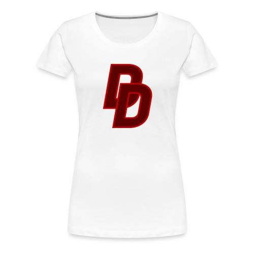 Daredevil Logo - Women's Premium T-Shirt
