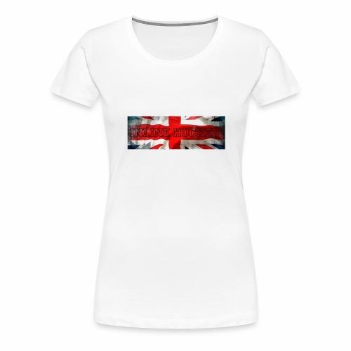 Inline Hockey Great Britain - T-shirt Premium Femme