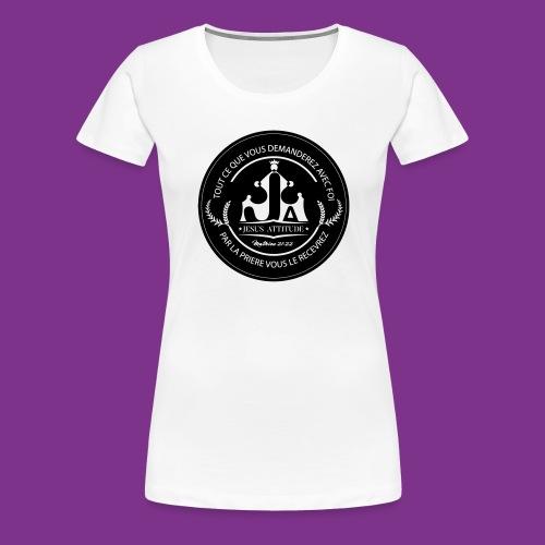Jesus Attitude #2 - T-shirt Premium Femme