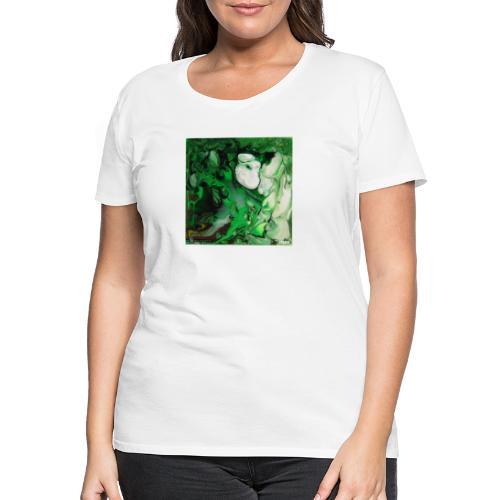 TIAN GREEN Mosaik DK017 - Hope - Frauen Premium T-Shirt