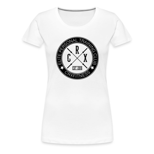 CRXFitness Logo - Women's Premium T-Shirt