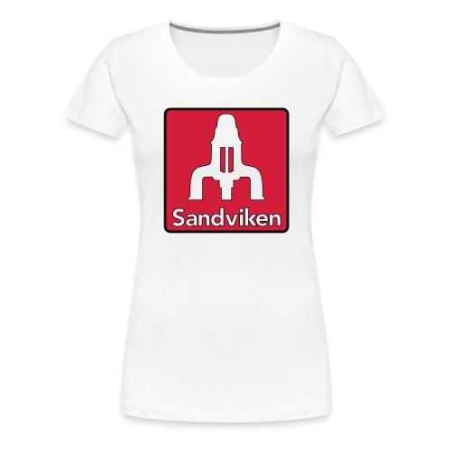 Sandviken Hoodie - Premium-T-shirt dam