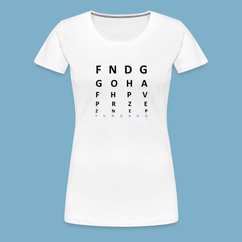 Fundago Label Motiv - Frauen Premium T-Shirt