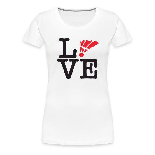 Badminton01 - T-shirt Premium Femme