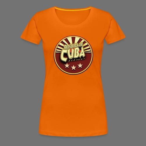 Republica De Cuba Libre - Frauen Premium T-Shirt