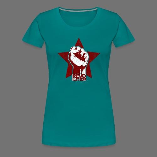 Revolution (oldstyle) - Naisten premium t-paita