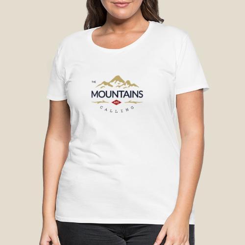 Outdoor mountain - T-shirt Premium Femme