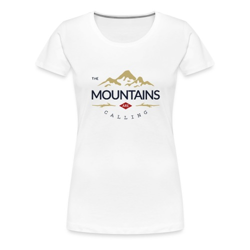 Outdoor mountain - T-shirt Premium Femme