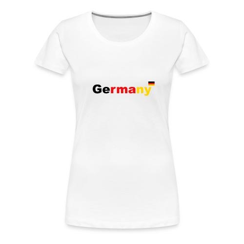 Germany Deutschland Германия - Frauen Premium T-Shirt