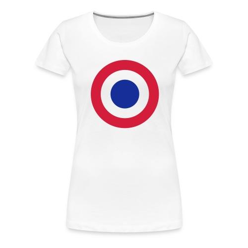 FFI Logo 2 manche - T-shirt Premium Femme
