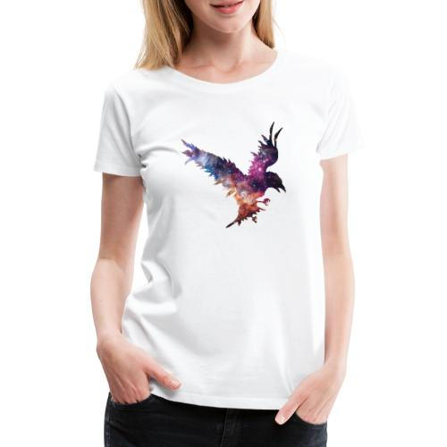 Rabe der Welten - Frauen Premium T-Shirt