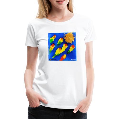TIAN GREEN Mosaik DK035 - Paradise - Frauen Premium T-Shirt