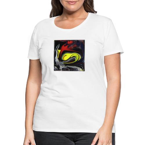 TIAN GREEN Mosaik DK039 - Beauty - Frauen Premium T-Shirt