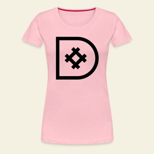 Icona de #ildazioètratto - Maglietta Premium da donna
